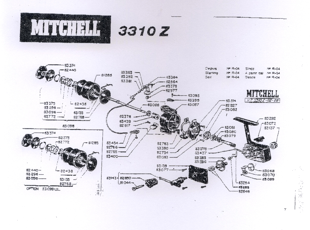 Mitchell Avocet S2000 Parts Diagram Electrical Work Wiring Diagram