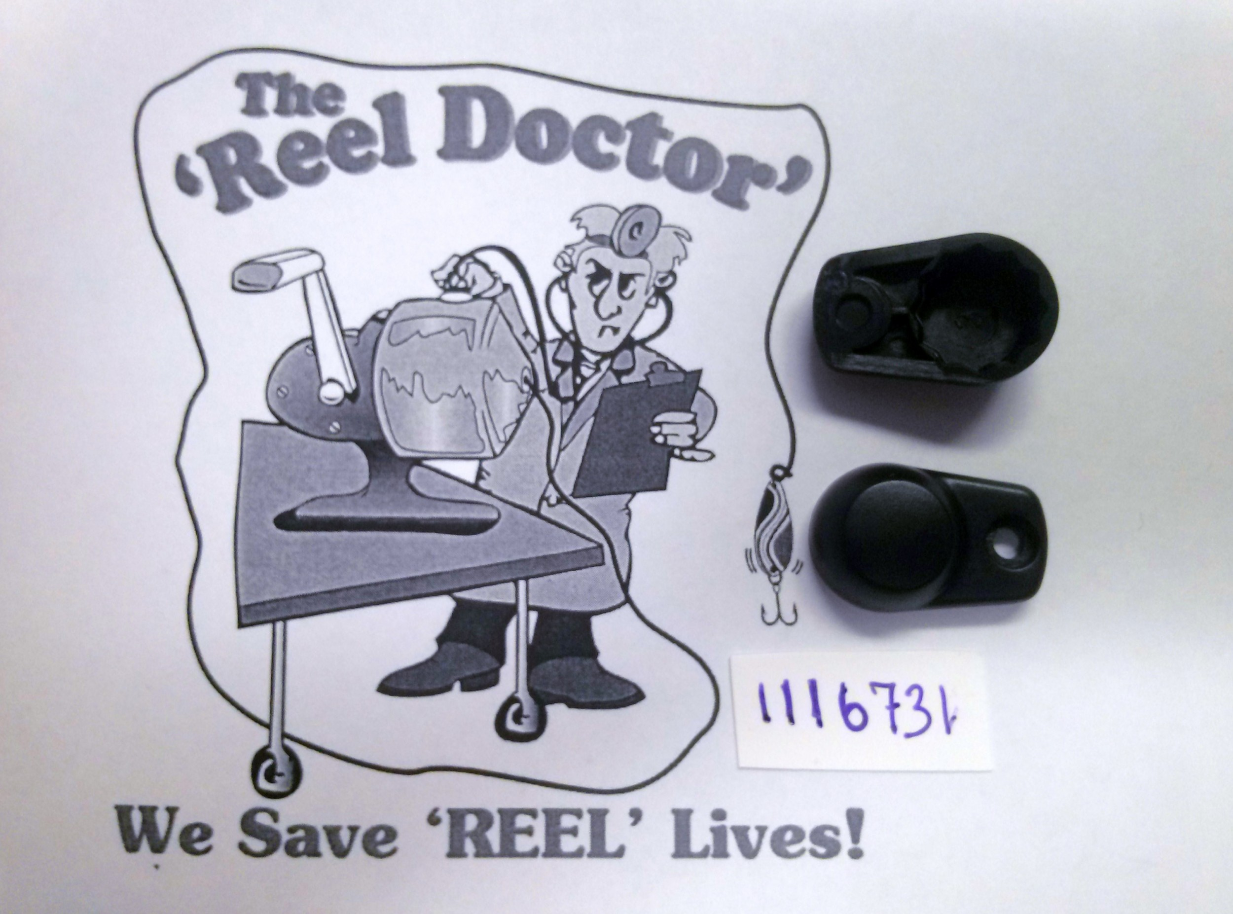1116731 HANDLE NUT COVER The Reel Dr Your Western Canada