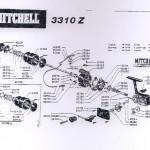 MITCHELL 3310Z